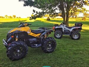 STOLEN: TWO  canam atvs