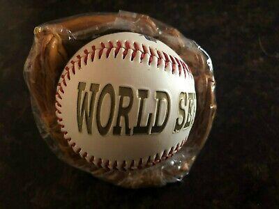 1996 New York Yankees Commemorative World Series Champions Baseball & Glove