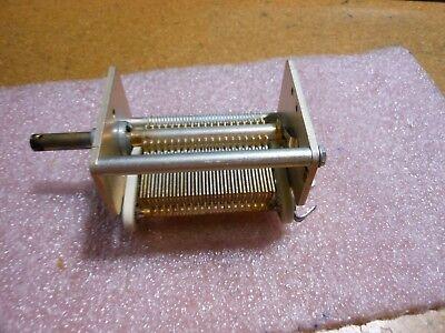 Hammarlund Vicking Variable Capacitor Part 20-37108-2 Nsn 5910-00-110-3217