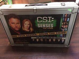 2006 CSI Crime Scene Investigation Senses the Game- complete