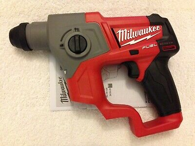 New Milwaukee Fuel 2416-20 M12 12v 12 Volt Cordless 58 Sds-plus Rotary Hammer