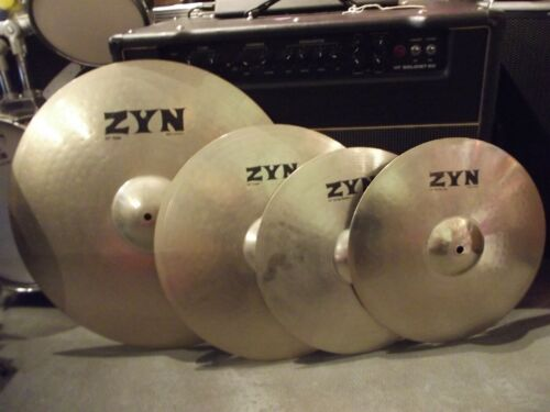 ZYN Cymbal Set - Ride, Crash & Hi Hat