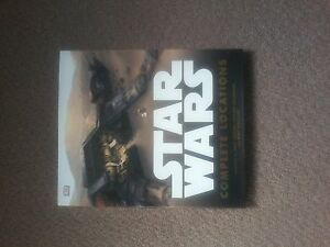 Star War's Complete Locations Brand New Hard Cover Book