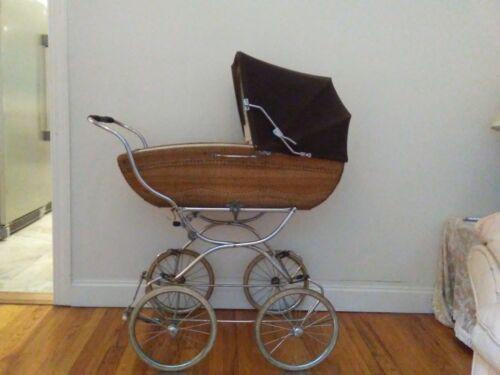 VINTAGE RARE ELEGANT 1980 BABY CARRIAGE