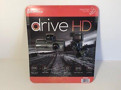 Cobra CDR 840 Drive 1080p HD Dash Cam w/ GPS & G-Sensor Technology CDR840
