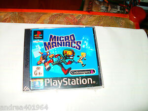 Micro Maniacs - PlayStation   PS1