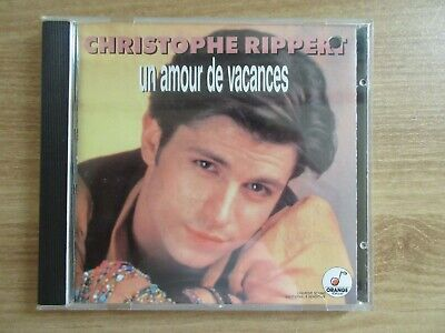 Christophe Rippert - Un Amour De Vacances 1994 Korea Orig CD RARE