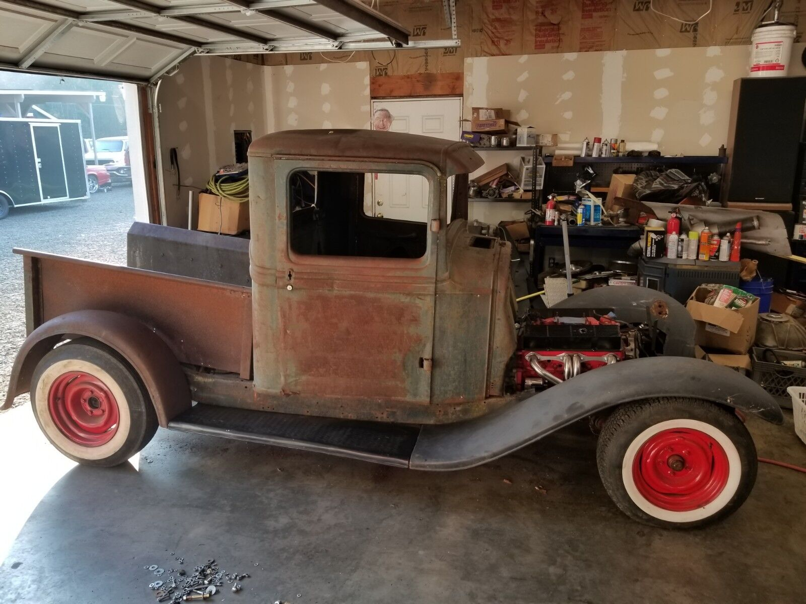 1934 Ford Other Pickups Hot Rod 1934 Ford Pickup, 350, 350, mustang II, Hot Rod Project Rat Rod 32 33 No Reserve
