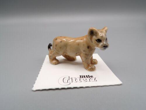 "Little Critterz Cougar Cub ""Renegade"" Porcelain Figurine LC136"