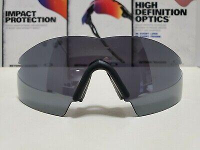 Oakley M Frame Black Iridium Strike Lens Date Stamped 04/14/03 New Nose Piece!