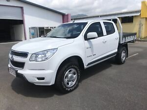 2013 Holden Colorado LX RG MY14 Cab Chasis 4X4 Dual Cab Ute Bungalow Cairns City Preview