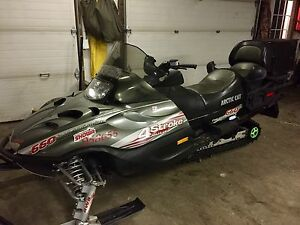 2003 4 stroke arctic cat 660 Touring