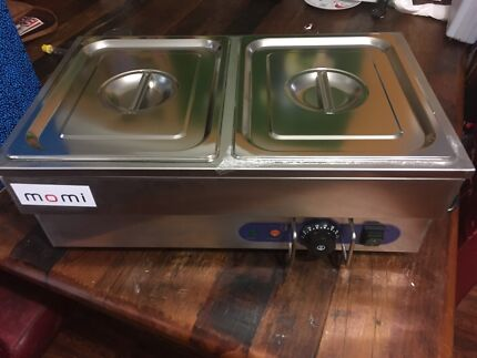 2 Pan Commercial Bain Marie Brand New