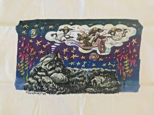 Bouvier des Flandres Pillow Case by McCartney
