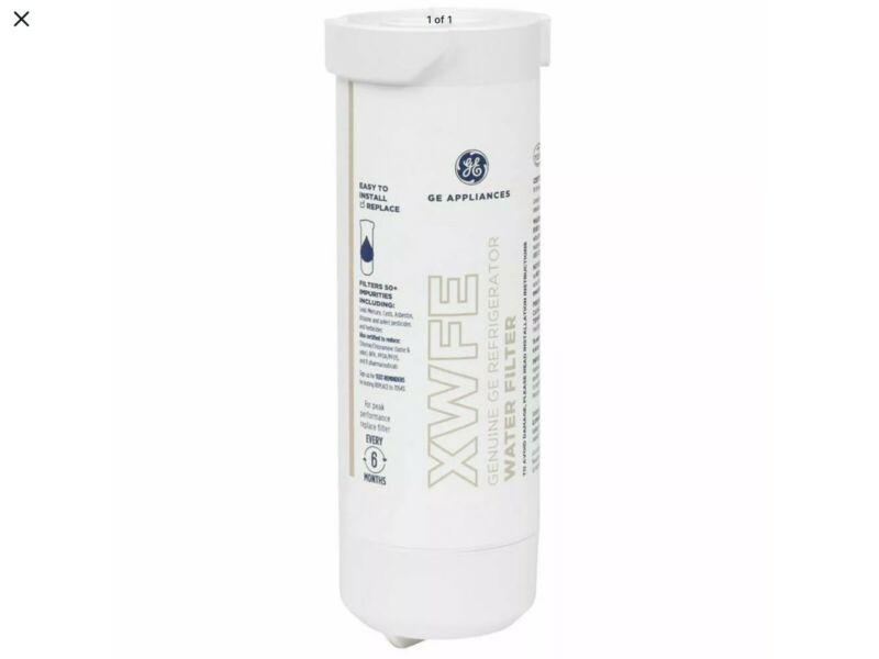 GE XWFE REFRIGERATOR WATER FILTERS 3 PK
