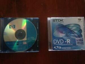 DVD-R Discs and CD-R Discs. Qty 11. $0.50 each