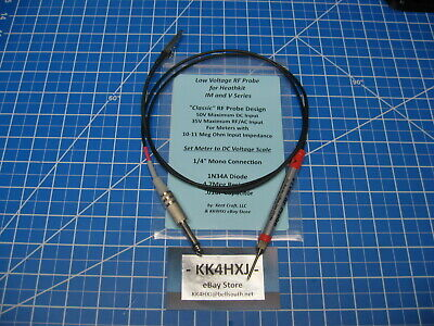 Vtvm Rf Probe - Low Voltage - Heathkit Im And V Series Meters V-7im-18 Etc