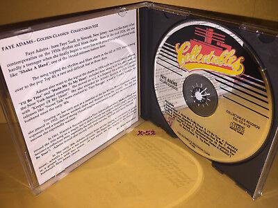 FAYE ADAMS Cd HERALD RECORDINGS Hits SHAKE A HAND Hammer SAY A PRAYER Everyday - $14.99