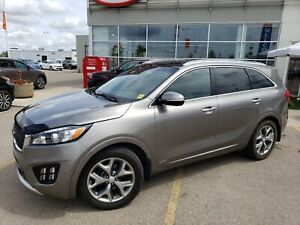 2016 Kia Sorento 3.3L SX 7 PASSENGER - COOLED SEATS - BACK UP...