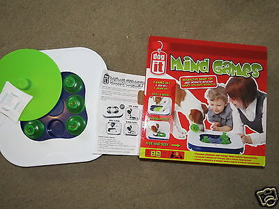 GREAT Dog It Mind Games Interactive Smart Toy for small or medium dogs / puppies