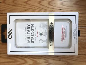 iPhone 8 Plus clear protective case