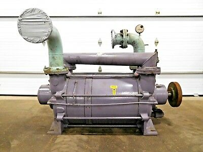 Mo-2705 Busch Liquid Ring Gas High Vacuum Pump. Lb 3008. 2 Stage.