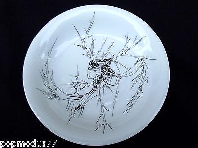 """Ceramic Art Deco 1925 Signed """" La Masters """" Decor Gothic"""