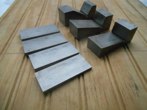 FUJI TOOL ANGLE BLOCKS , 10 , 15 , 30 , 2,3,4,5, DEGREE ,  7 PCS.