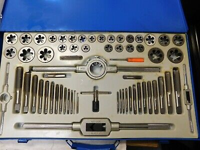Interstate Tap And Die Set 64 Piece Set With Metal Case 03959038