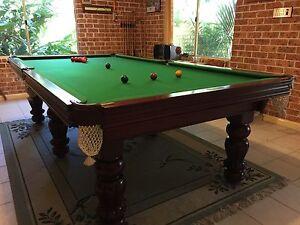 9 ft x 4 ft 6 in Billiard table Turramurra Ku-ring-gai Area Preview