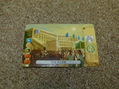 7 Wonders Duel - The Messe Promo Card / Expansion - New!