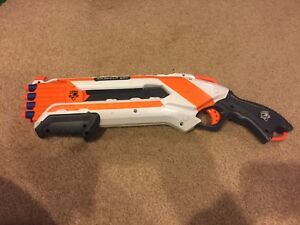 Nerf Roughcut 2x4 With New Bullets