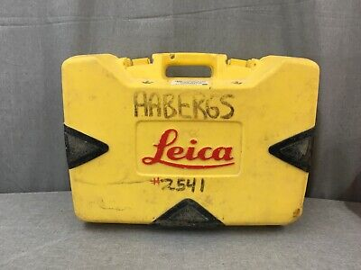 Leica Rugby 810 Rotary Self Leveling Rotating Laser W Remote Carrying Case
