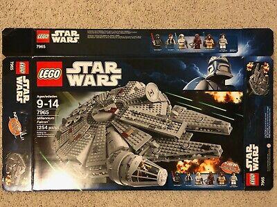 EMPTY BOX ONLY - LEGO 7965 Star Wars Millenium Falcon