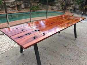 Indoor / outdoor dining table