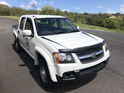 2009 Holden Colorado Dual cab Drives really well