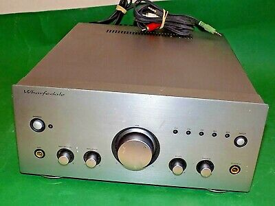 WHARFEDALE Vintage Stereo Integrated Amplifier Amp S-991 Grey Quality Phono