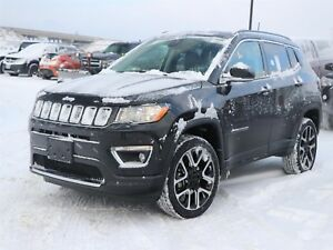 2017 Jeep Compass Limited 4x4, GPS, Heated Seats