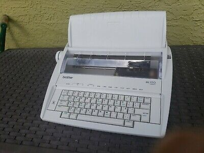Brother Ml 100 Standard Electric Typewriter Tested Works Great
