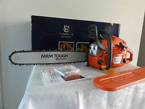 """Husqvarna Chainsaw Rancher460 Brand New 20"""" Bar New Beith Logan Area Preview"""