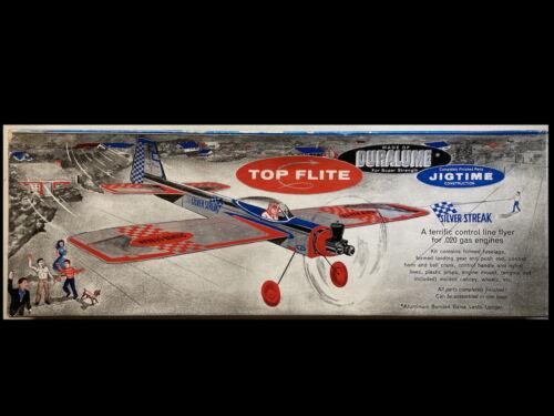 Top Flite Silver Streak Duralume Control Line Airplane Kit VINTAGE .020