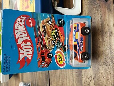 VINTAGE 1982 Hot Wheels ORANGE BAJA BREAKER Blackwall RARE Unpunched Card