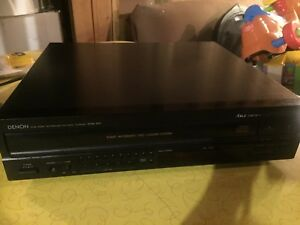 DENON 5 disc CD player
