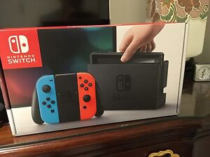 Nintendo Switch Neon brand new Hawthorn Boroondara Area Preview