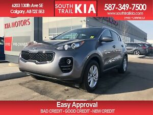 2019 Kia Sportage LX, AWD, BLUETOOTH, HEATED SEATS, BACK UP CAME