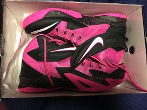 LEBRON SOLDIER 8 BREAST CANCER