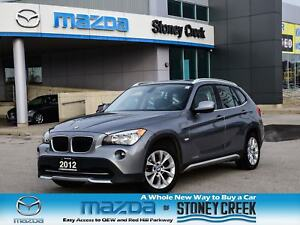 2012 BMW X1 Xdrive28i Moonroof Foglights Heated Seats