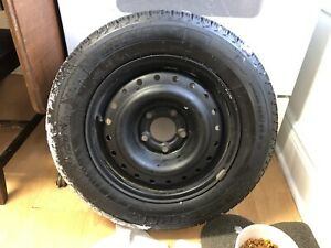 Set of 4 Michelin winter tires and wheels *like new*