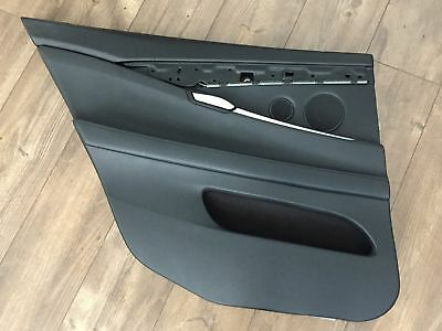 2010 BMW 550i GRAN TURISMO REAR LEFT SIDE INTERIOR DOOR PANEL COVER TRIM OEM F07