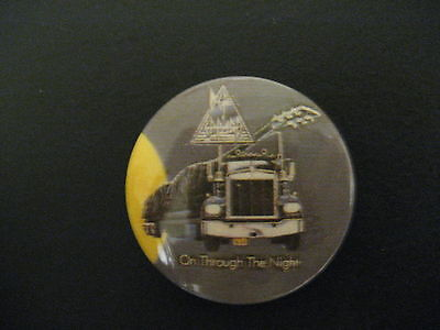Def Leppard-On Through the Night-Pin-Button-Badge-80's (Def Leppard Button)